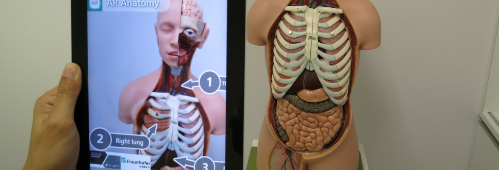 Augmented reality and anatomy learning