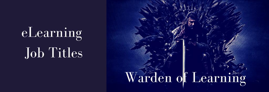 eLearning Job Title Banner Ned Stark